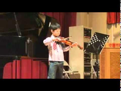 演奏者:劉張叡/演奏曲目:春神來了&荻野千尋/演奏樂器:小提琴