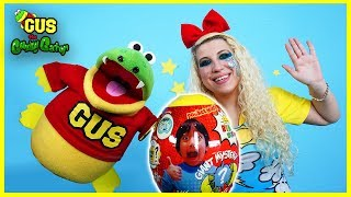 Giant Mystery Eggs Unboxing + Surprise Toys