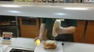Ordering A Really Gross Subway Sandwich!   OmarGoshTV