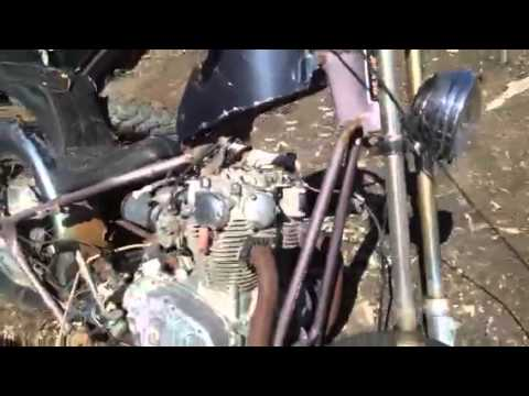 Junkyard find Hot Rods and Motorcycles