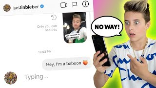 DM'ing 100 CELEBRITIES TO SEE WHO WOULD REPLY.. **it actually worked**   Gavin Magnus