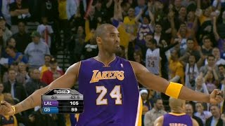 Kobe Bryant Full Highlights vs Warriors 2011.01.12 - 39 Pts (30 in 2nd Half), Clutch 4th Qtr