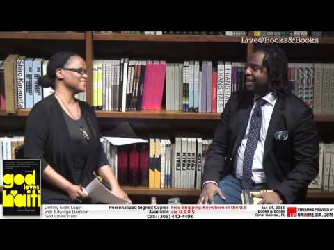 Dimitry Elias Léger   Conversation with Edwidge Danticat at  Books&Books Coral Gables.