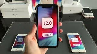 iOS 12 bêta 9: super batterie et performances !!!