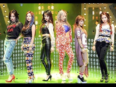 티아라  T-ARA - 슈가프리 SUGAR FREE (Best Performance)