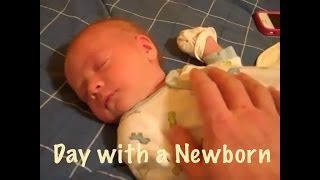 Day in the Life (DITL): 24 Hours with A Newborn