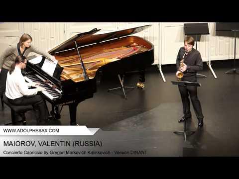 Dinant 2014 - Maiorov, Valentin - Concerto Capriccio by Gregori Markovich Kalinkovich