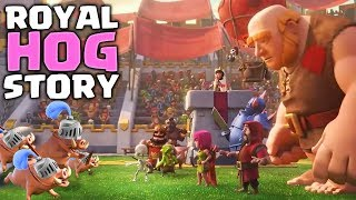 How the Hog lost his Rider & Became the ROYAL HOGS | Clash Royale Royal Hog Origin Story [WoC]