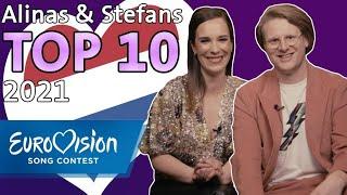 ESC 2021: Alinas und Stefans Top 10 | Eurovision Song Contest | NDR