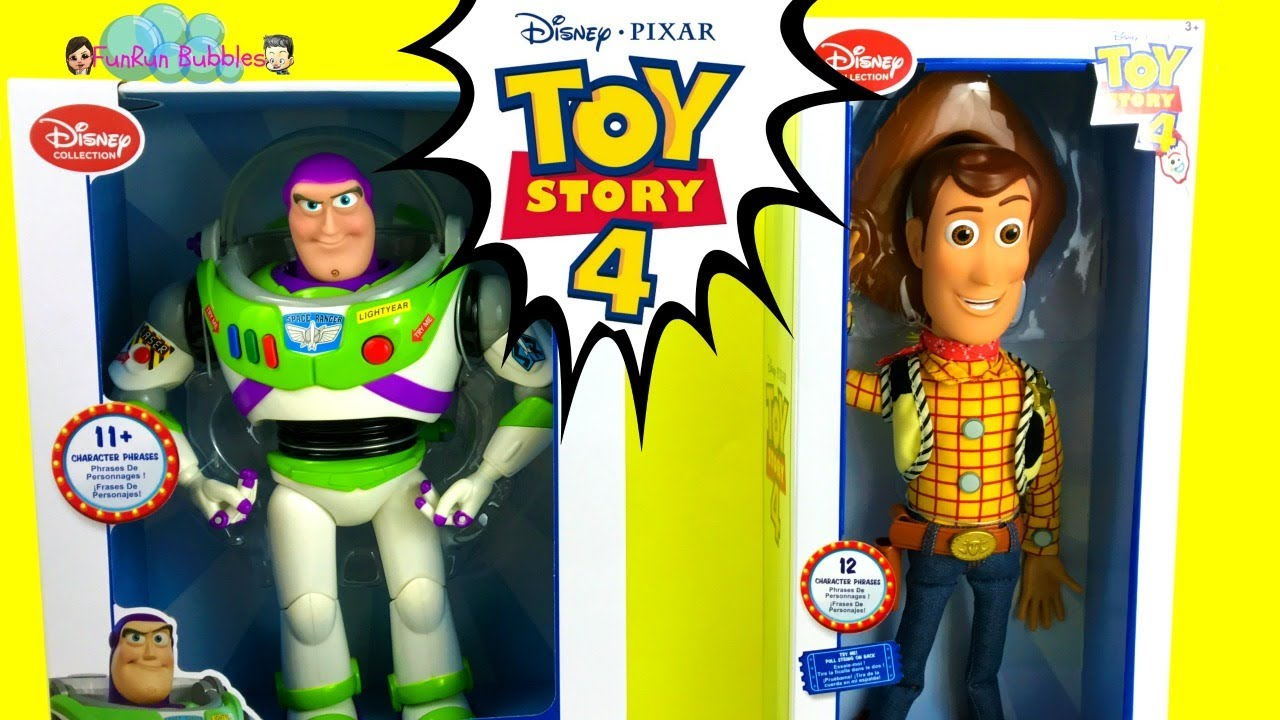 Toy Story 4 Buzz Lightyear And Woody Disney Collection