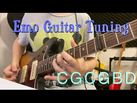 Emotional Guitar Tuning (C G C G B D)