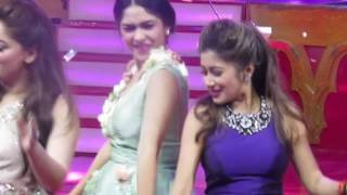 Mrunal Thakur Dance 1234 get on the dance floor Closing Bollystarvanza 09 juli 2017
