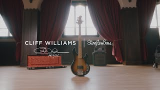 The Cliff Williams Icon Series StingRay Bass