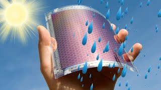 New solar panels could generate electricity from raindrops; Floating solar farm - Compilation