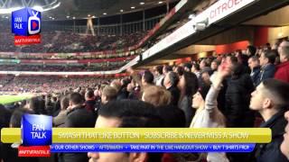 Arsenal Fans Giving It To The Spurs Fans (Terrace Cam) - Arsenal 2 Spurs 0