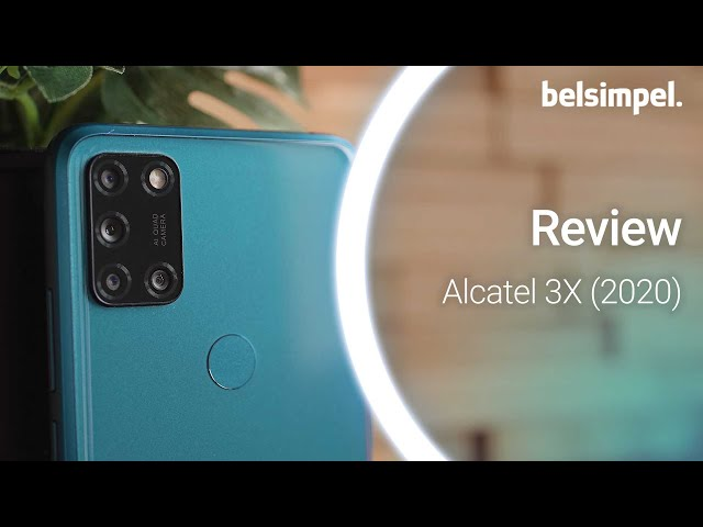 Belsimpel-productvideo voor de Alcatel 3X (2020) 128GB
