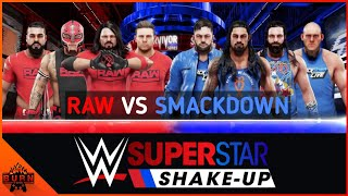 WWE 2K19 RAW VS SMACKDOWN SUPERSTAR SHAKEUP [ TRADITIONAL SURVIVOR SERIES ELIMINATION MATCH ]
