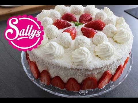 Sallys Buttermilch Cupcakes Mit Erdbeeren Und Mascarpone Topping