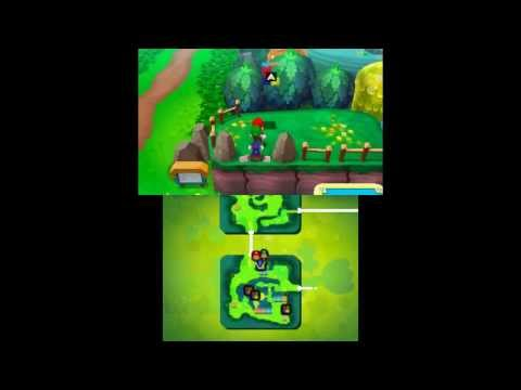 Mario & Luigi: Dream Team - Mushrise Park & Dreamy Mushrise Park Attack Block Locations - Smashpipe Games