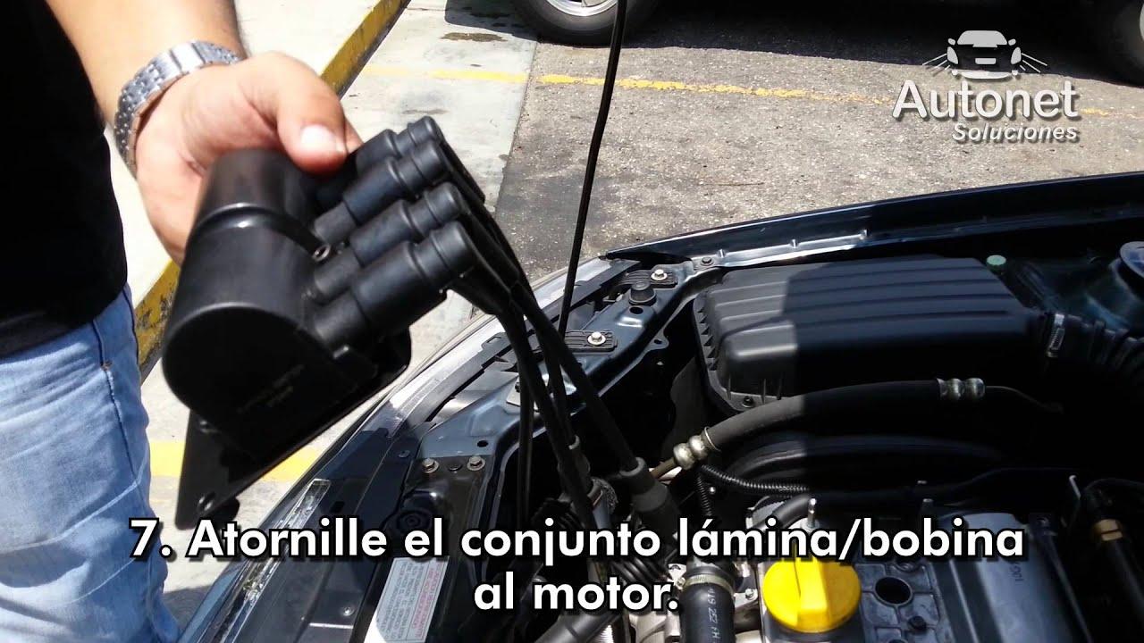 Reemplazo Bobina Tipo Regleta Por Tipo Bloque Chevrolet
