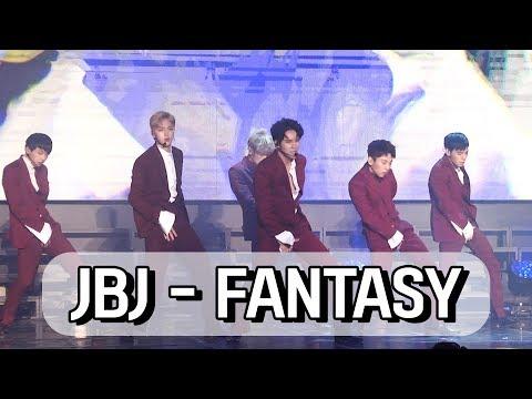 [ENG lyrics] JBJ - FANTASY 무대 STAGE (171018 JBJ DEBUT SHOWCASE)