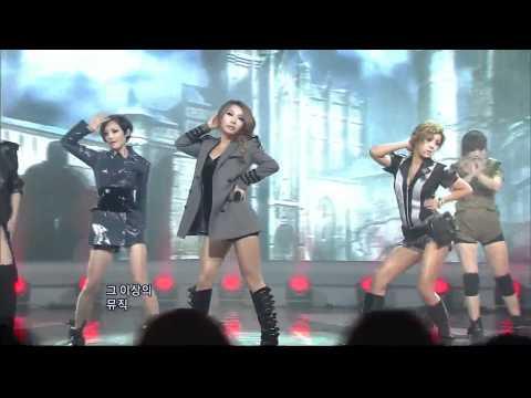 [SBS] B.E.G : Sixth Sense (브아걸 - 인기가요 642회)