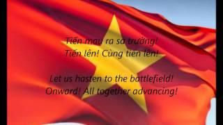 "Vietnamese National Anthem - ""Tiến Quân Ca"" (VI/EN)"
