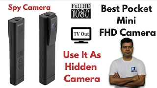 Cheapest Full HD Spy Cam, Unboxing, Review, Pros, Cons | Gadgets To Use