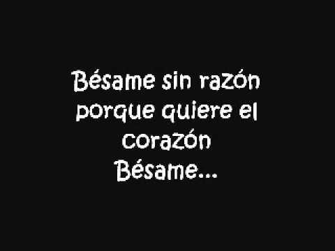 Bésame - Camila (Letra)