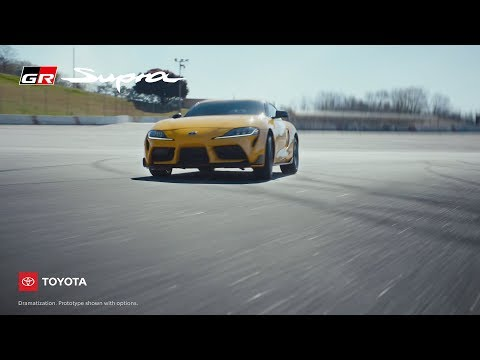 "The :06-second spot ""Joy,"" from Toyota's new campaign ""This Is Our Sport,"" highlights the stunning design of the all-new 2020 GR Supra."