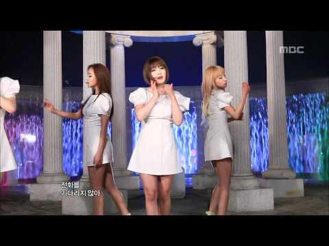 Rainbow - To me, 레인보우 - 내게로, Music Core 20110416