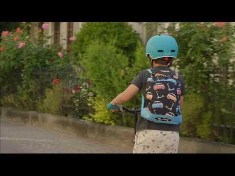 Video MICRO Trottinette enfant MAXI DELUXE PRO Rose