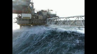 (REALITY OF THE SEA) Ultimate Ships & Oil Rigs In STORM Compilation!!