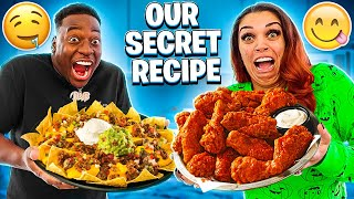 HOW TO MAKE OUR FAMOUS NACHOS & CHICKEN WINGS RECIPE | COOKING WITH THE PRINCE FAMILY