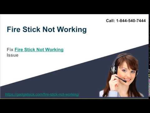 Fire Stick Not Working | 1-844-540-7444