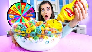 Mystery Wheel of FOOD Challenge!