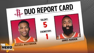 Colin Cowherd grades the Top 12 duos currently in the NBA & sorts them by tier | NBA | THE HERD