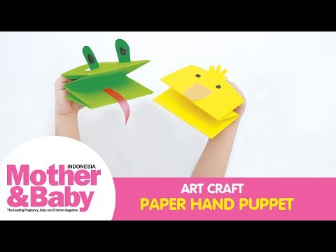 Art & Craft: Paper Hand Puppet