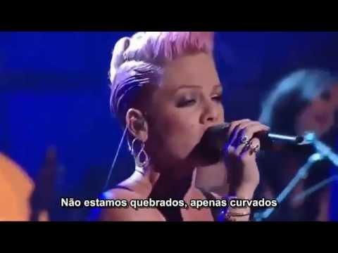 P!nk & Nate Ruess - Just Give Me a Reason (Live) Legendado em PT- BR