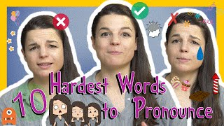 Learn the Top 10 Hardest English Words to Pronounce