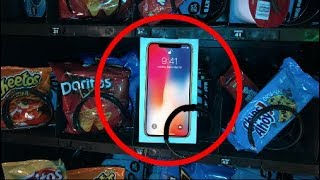 iPhone X for $1.00 at VENDING MACHINE! | JOYSTICK