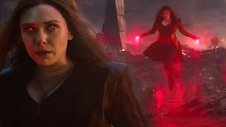 Scarlet Witch - The Scenes Powers & Fights