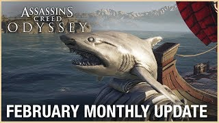 Assassin's Creed Odyssey: February Monthly Update   Ubisoft [NA]