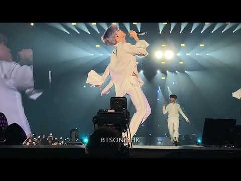 190321 I NEED U + RUN BTS(방탄소년단) Love Yourself Tour in Hong Kong Fancam