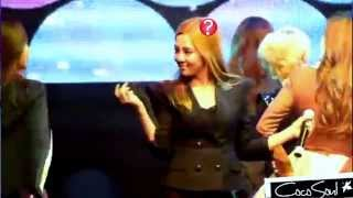 SNSD - Funny static hair (Coway concert - Compilation: Genie+The boys+ Oh+ Gee)