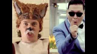 What does the Fox say Gangnam Style Ylvis and Psy Mashup