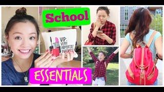 Đồ Dùng Cần Thiết Khi Đi Học - Back To School - School Essentials | TrinhPham