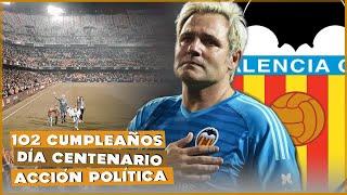 El día que volví a la portería de Mestalla. 102 Aniversario Valencia CF | Santi Cañizares