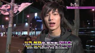 Jan Di (Goo Hae Sun) car accident [ENG SUB]