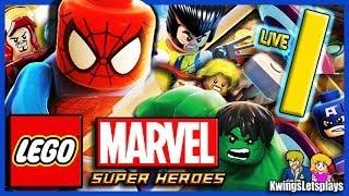 LEGO Marvel: LIVE Stream Part 1 Spider-Man Free Roam